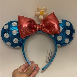 Disney Minnie Mouse Ears with Daisy